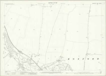 Berkshire XXXIV.3 (includes: Boxford; Welford) - 25 Inch Map