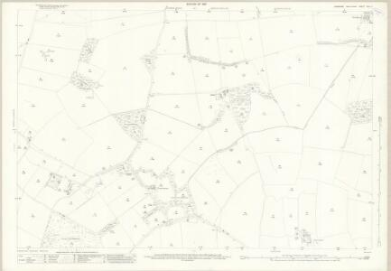 Yorkshire XXV.5 (includes: Forcett With Carkin; Melsonby; Stanwick St John) - 25 Inch Map