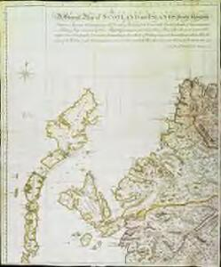 A general map of Scotland and islands thereto belonging, 1