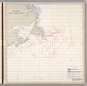 Ice Chart, Grand Banks Region, July.