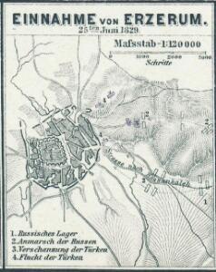 Einnahme von Erzerum 25ten Juni 1829