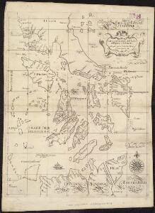 Carta particolare dell'Isole Fillipine è di Luzon