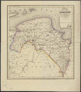 Kaart der provincie Groningen