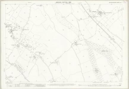 Buckinghamshire XLI.7 (includes: Bledlow cum Saunderton; Bradenham; West Wycombe Rural) - 25 Inch Map