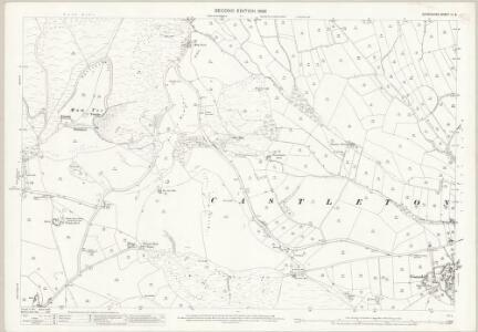 Derbyshire IX.8 (includes: Castleton; Edale; Peak Forest) - 25 Inch Map