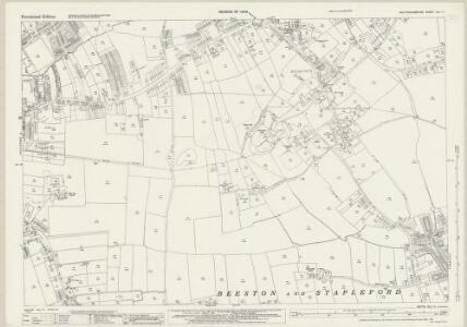 Nottinghamshire XLI.11 (includes: Beeston And Stapleford) - 25 Inch Map