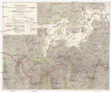 Übersichtskarte vom Gebiet der Sektion