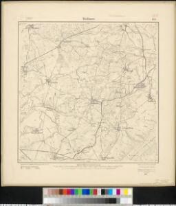 Meßtischblatt 1237 : Wallmow, 1911