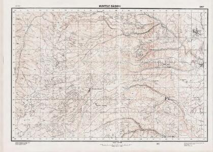 Lambert-Cholesky sheet 2867 (Muntele Băișorii)