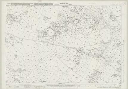 Cornwall LXXV.7 (includes: Breage; Germoe) - 25 Inch Map