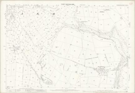 Derbyshire XXVIII.1 (includes: Monyash; Over Haddon; Youlgreave) - 25 Inch Map