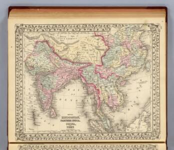 Hindoostan, Farther India, China, Tibet.