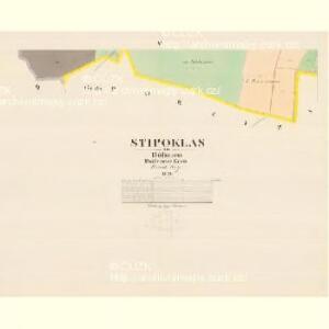 Stipoklas - c7791-1-005 - Kaiserpflichtexemplar der Landkarten des stabilen Katasters