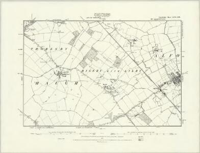 Lincolnshire LXV.NE - OS Six-Inch Map