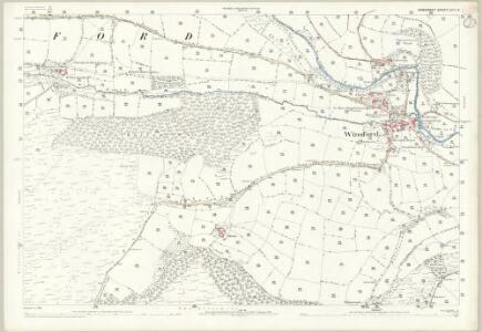 Somerset LVII.2 (includes: Exton; Winsford) - 25 Inch Map