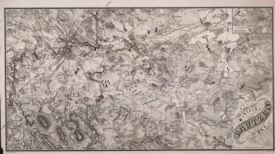 Die Schlacht von Bautzen den 21ten May 1813