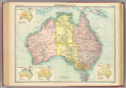 Australia - political.