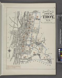 Index Map City of Troy, N.Y.