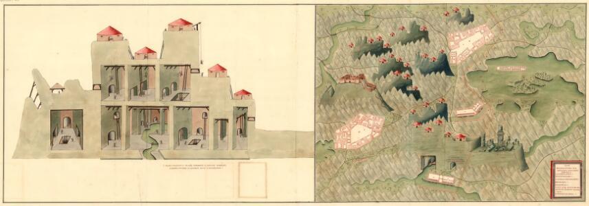 Plan der Bergwerg Schreflhoff, und Theifenegg