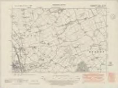 Denbighshire XXI.NE - OS Six-Inch Map