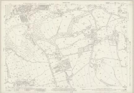 Derbyshire XII.9 (includes: Eckington; Sheffield) - 25 Inch Map