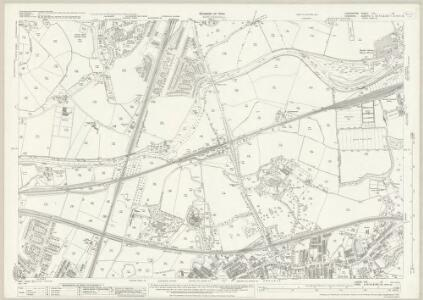 Lancashire CXI.15 (includes: Cheadle And Gatley; Manchester; Stockport) - 25 Inch Map