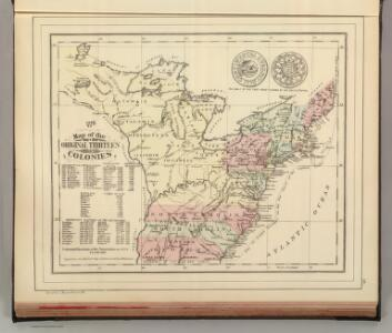 Original Thirteen Colonies.