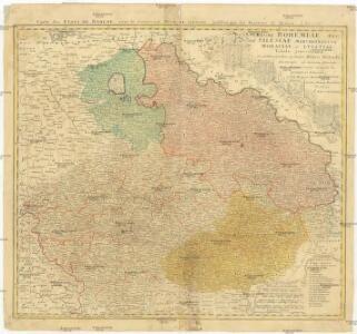 Carte des Etats de Boheme, avec le Souverain Dvce de Silesie