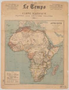 Afrique : d'après les documents les plus récents et les derniers traitès