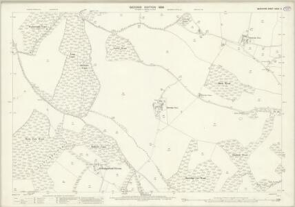 Berkshire XXVIII.5 (includes: Aldworth; Ashampstead; Basildon; Streatley) - 25 Inch Map