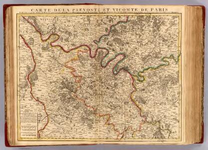 Paris, Prevoste, Vicomte.