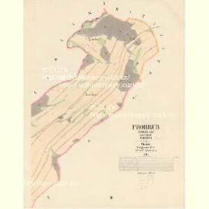 Prohrub (Proruby) - c6107-1-001 - Kaiserpflichtexemplar der Landkarten des stabilen Katasters