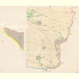 Jamney (Jamny) - c2741-1-001 - Kaiserpflichtexemplar der Landkarten des stabilen Katasters