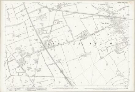 Cheshire XXXI.1 (includes: Ellesmere Port; Ledsham; Willaston) - 25 Inch Map