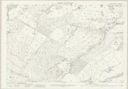 Herefordshire XXXI.15 (includes: Llangernyw; Michaelchurch Escley; Peterchurch) - 25 Inch Map