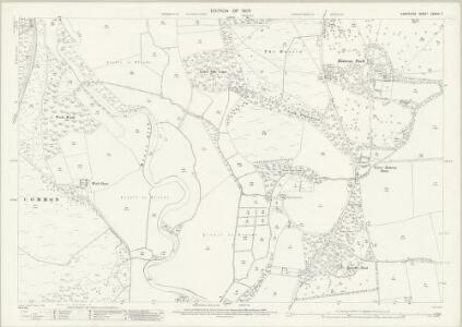 Hampshire and Isle of Wight LXXVIII.7 (includes: Ringwood; Sopley) - 25 Inch Map