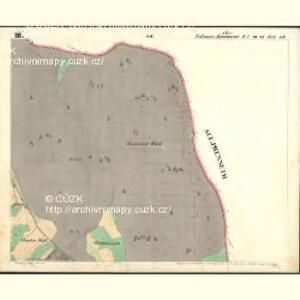 Vollmau Ober - c2039-1-003 - Kaiserpflichtexemplar der Landkarten des stabilen Katasters