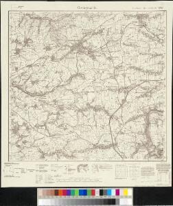 Meßtischblatt 4943 : Geringswalde, 1943