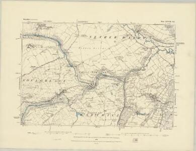 Derbyshire XXVIII.NW - OS Six-Inch Map