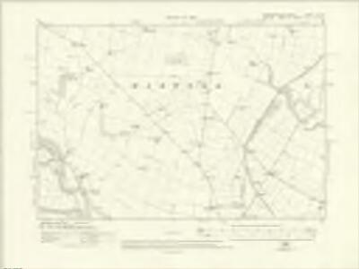 Yorkshire V.SE - OS Six-Inch Map
