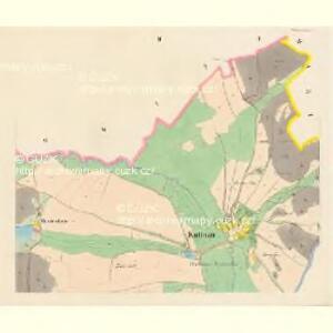 Kuttnau (Kuttnow) - c2585-1-002 - Kaiserpflichtexemplar der Landkarten des stabilen Katasters