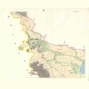Welleschitz (Welessice) - c8364-1-002 - Kaiserpflichtexemplar der Landkarten des stabilen Katasters