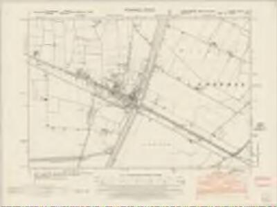 Lincolnshire CXLIV.NE - OS Six-Inch Map