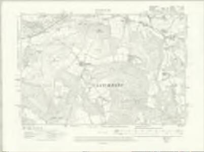 Hampshire & Isle of Wight XLV.SW - OS Six-Inch Map