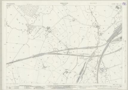 Wiltshire XLIV.7 (includes: Dilton Marsh; North Bradley; Westbury) - 25 Inch Map