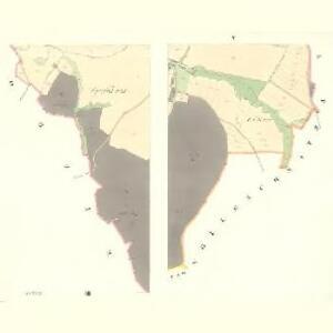Podolly - m2327-1-003 - Kaiserpflichtexemplar der Landkarten des stabilen Katasters