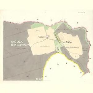 Neu Würben (Wrbni Nowe) - m2068-1-001 - Kaiserpflichtexemplar der Landkarten des stabilen Katasters