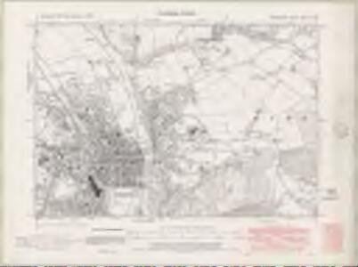 Perth and Clackmannan Sheet XCVIII.NW - OS 6 Inch map
