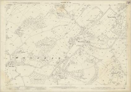 Hampshire and Isle of Wight II.15 (includes: East Woodhay; Highclere) - 25 Inch Map
