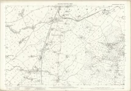 Caernarvonshire XV.16 (includes: Llandwrog; Llanwnda) - 25 Inch Map